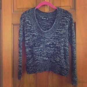 byCorpus cropped marled sweater - black